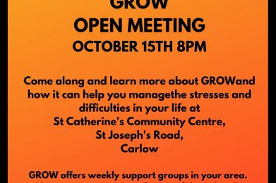 Open Grow Group in Carlow
